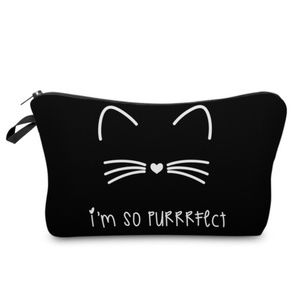 The Perrrfect Cosmetic Bag; NWT   Last One